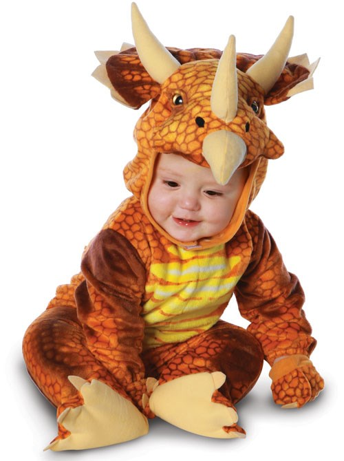 Triceratops Infant  and  Toddler Costume for the 2015 Costume season.