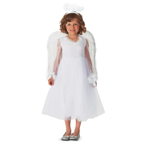 Pretty Angel Child Costume