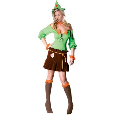The Wizard of Oz: Women's Scarecrow Adult Costume