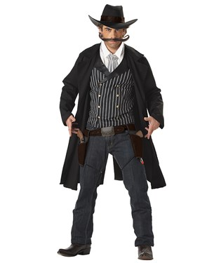 Western Gunslinger Adult Costume
