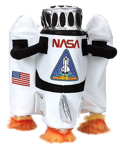 NASA Astronaut Backpack for the 2015 Costume season.