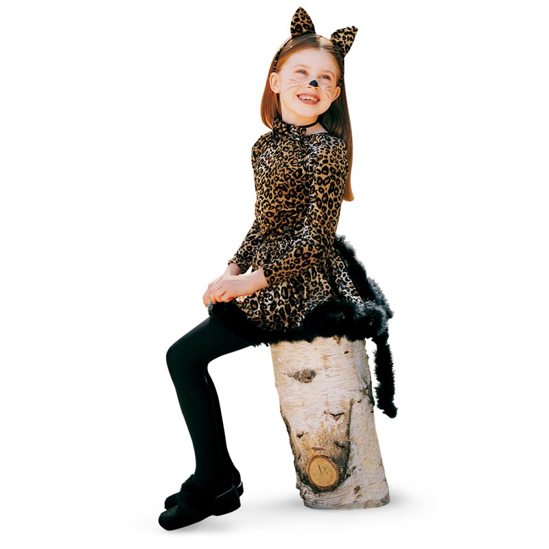 Cat with Ears, Tail and Bowtie Child Costume for the 2015 Costume season.