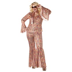 Disco-licious Adult Plus Costume