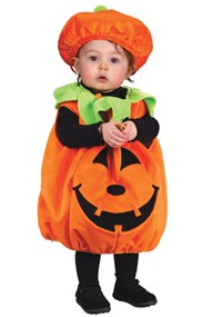 Click Here to buy Soft and Comfy Pumpkin Baby Costume from BuyCostumes