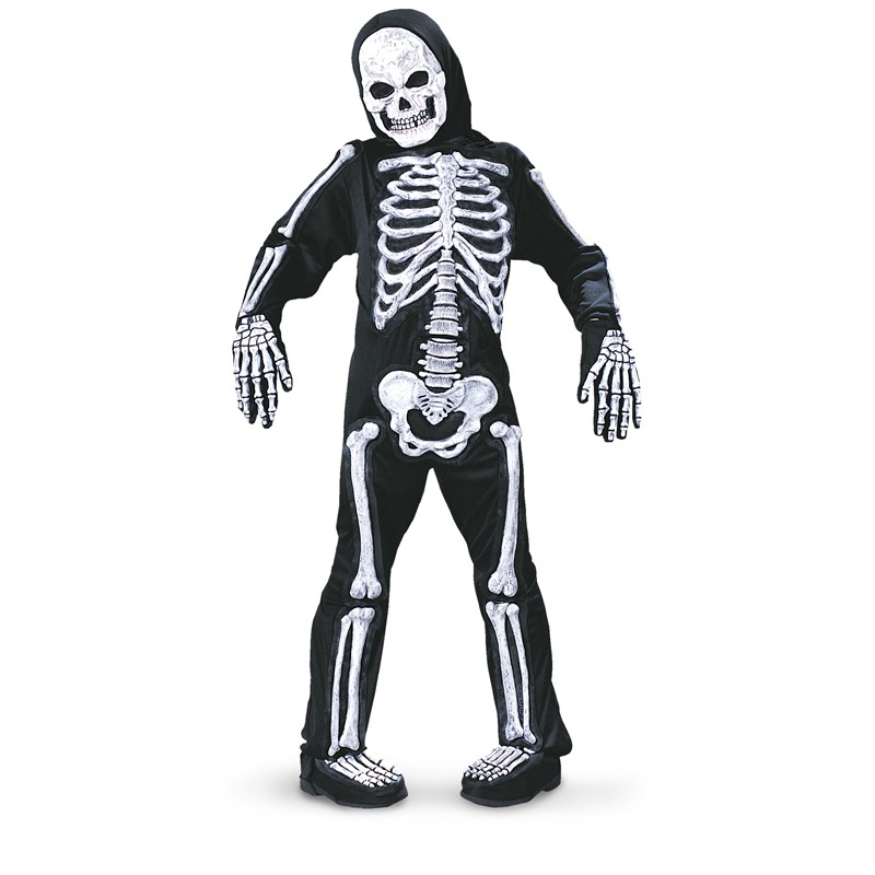 Spooky Skeleton Child Costume for the 2015 Costume season.