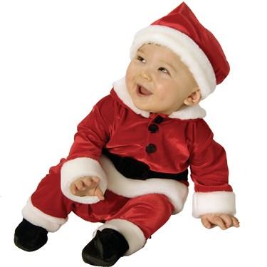 Velvet Santa Infant / Toddler Costume
