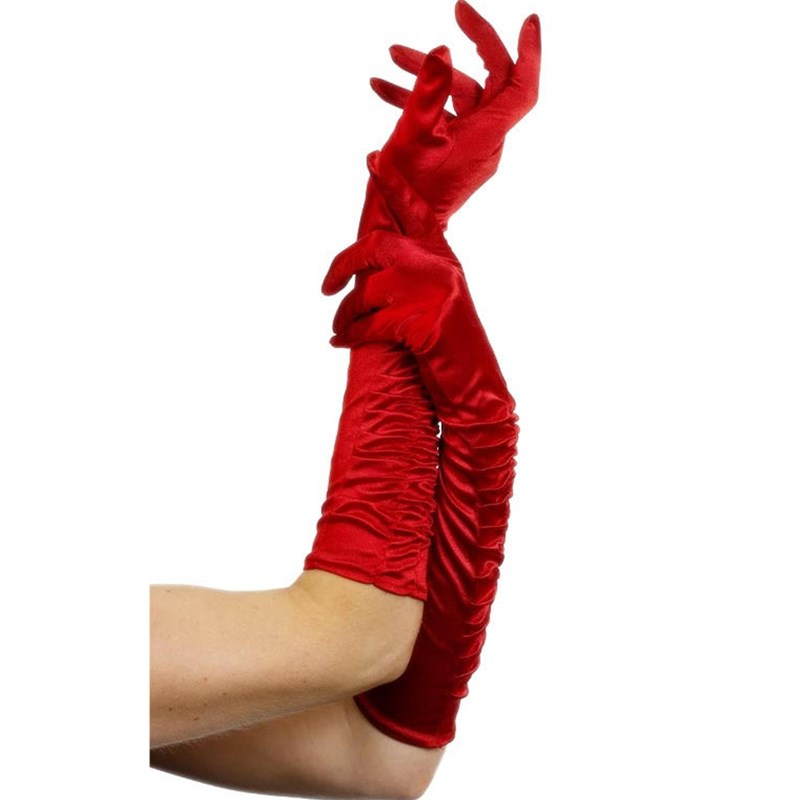 Temptress Long Red Gloves for the 2015 Costume season.