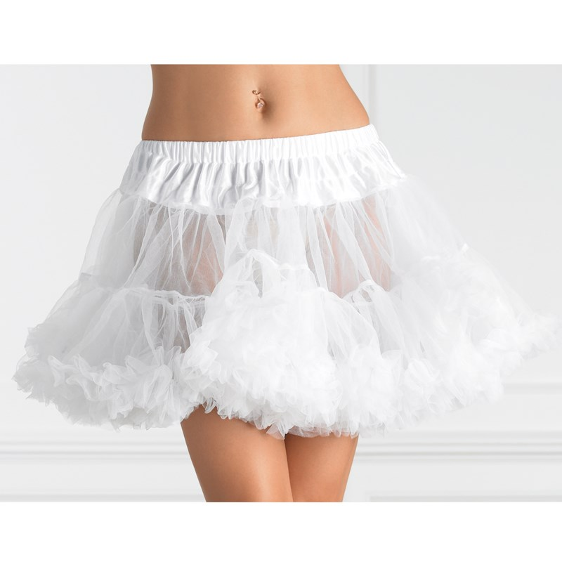 Tulle Petticoat (White) Plus Adult for the 2015 Costume season.