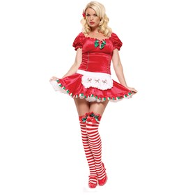 Candy Cane Cutie Adult Costume