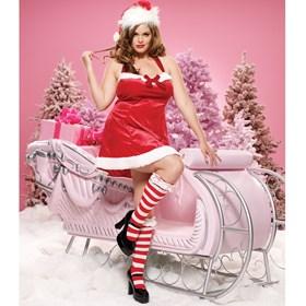Santa's Little Helper Dress Adult Plus