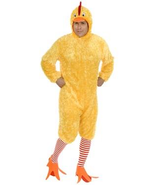 Chicken Adult Plus Costume