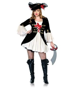 Captain Swashbuckler Adult Plus Costume