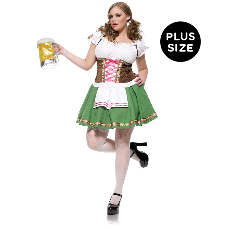 Gretchen Adult Plus Costume for the 2015 Costume season.