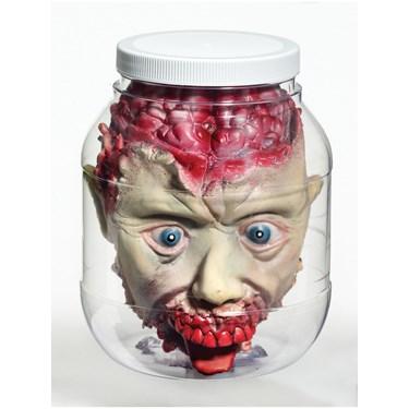 3D Head In Jar Prop