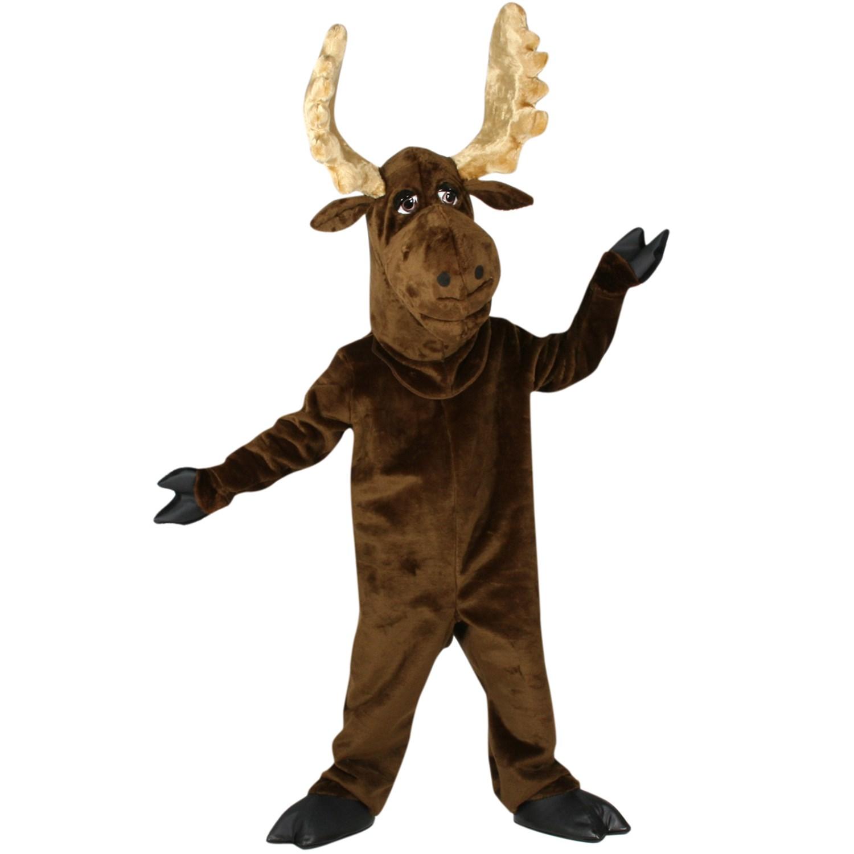Moose mascot adult costume buycostumes com