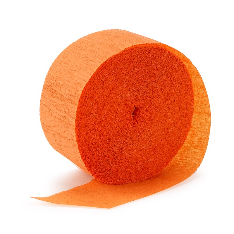 Bright Orange (Orange) Crepe Streamer   81 for the 2015 Costume season.