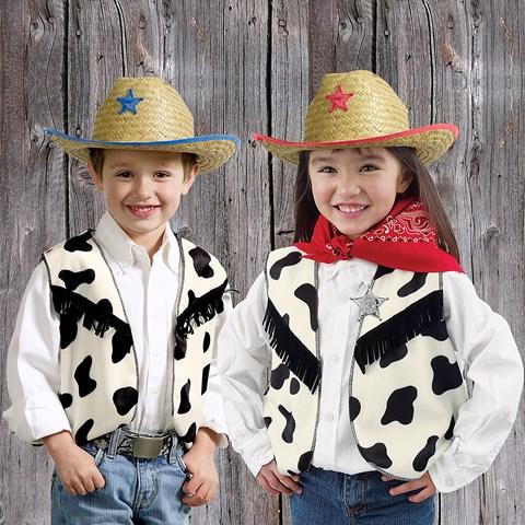Cow Print Vest Child