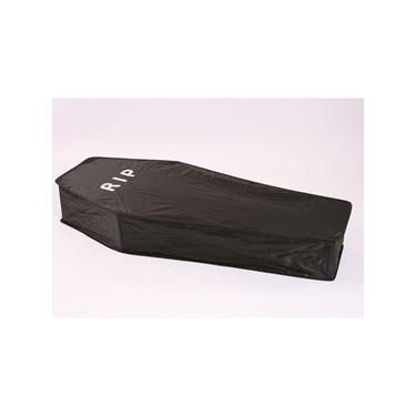 5' Collapsible Woodlook Coffin Prop
