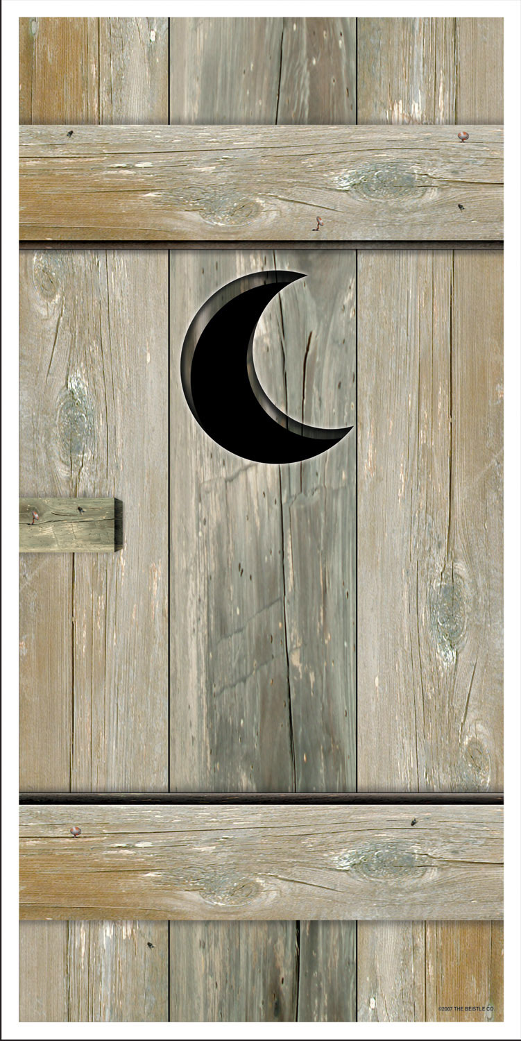 Outhouse Door Cover BuyCostumescom - Outhouse bathroom