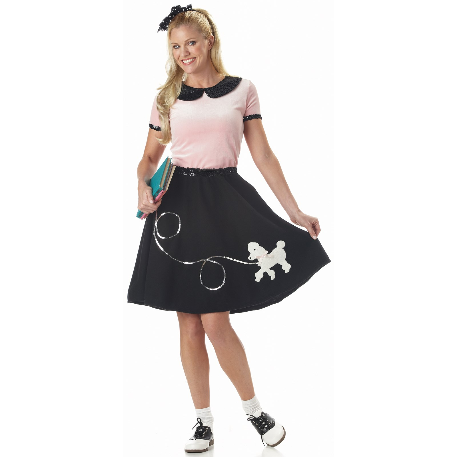 50s Hop With Poodle Skirt Adult Costume