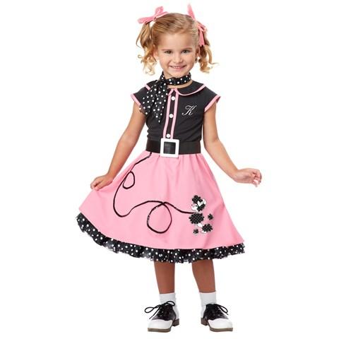 50's Poodle Cutie Toddler / Child Costume