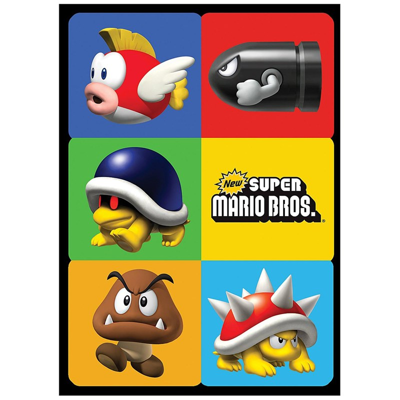 Super Mario Bros. Sticker Sheets for the 2015 Costume season.