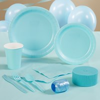 Pastel Blue (Light Blue) Party Supplies