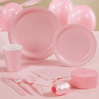 Classic Pink (Light Pink) Party Supplies