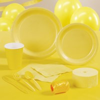 Mimosa (Light Yellow) Party Supplies