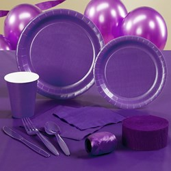 Perfect Purple (Purple) Deluxe Party Kit