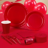 Classic Red (Red) Party Supplies