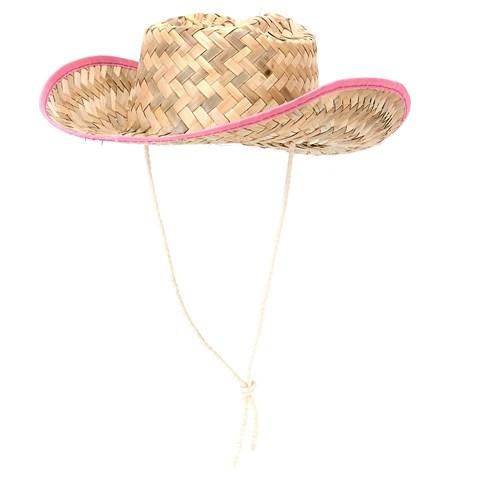 Child Straw Cowboy Hat - Western Wear