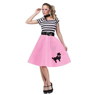 50s Poodle Skirt Adult Dress