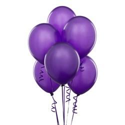 Perfect Purple (Purple) Latex Balloons (6 count)