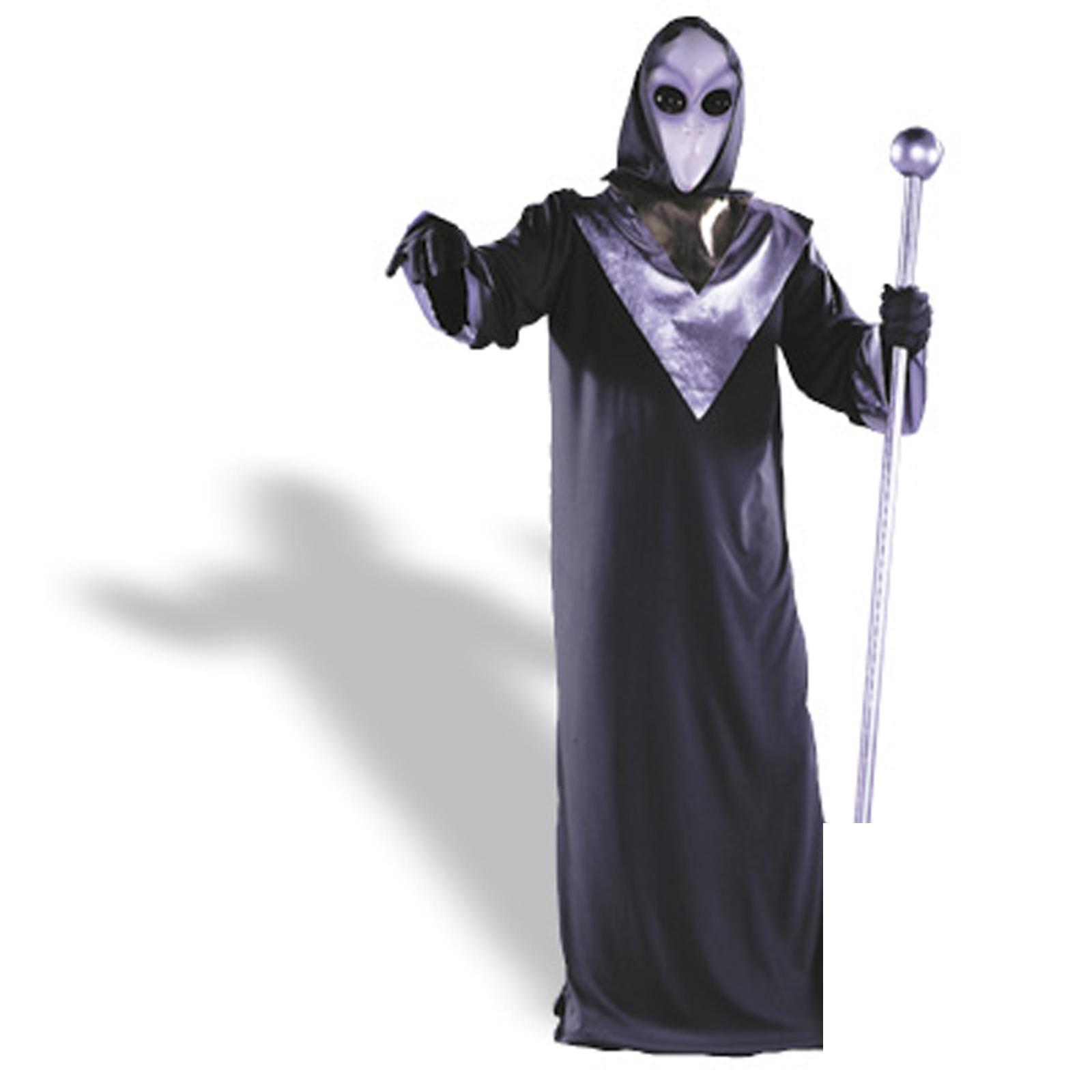 Alien Robe, X-Large - plus size men's halloween costumes