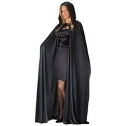 Cape, 74'' Hooded Black