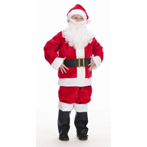 Child Santa Suit Costume