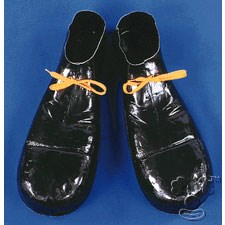 Plastic Clown Shoes for the 2015 Costume season.