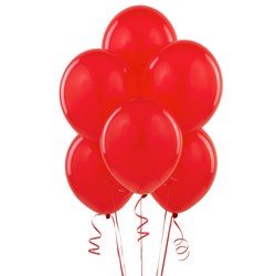 Red Matte 11 Balloons (6 count)