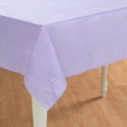Luscious Lavender (Lavender) Paper Tablecover