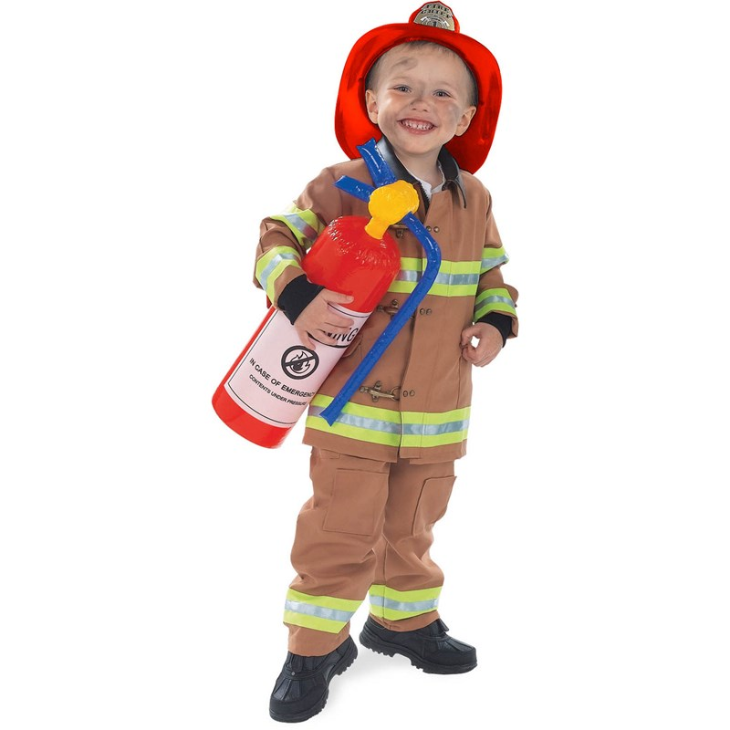 Firefighter Tan Child Costume for the 2015 Costume season.
