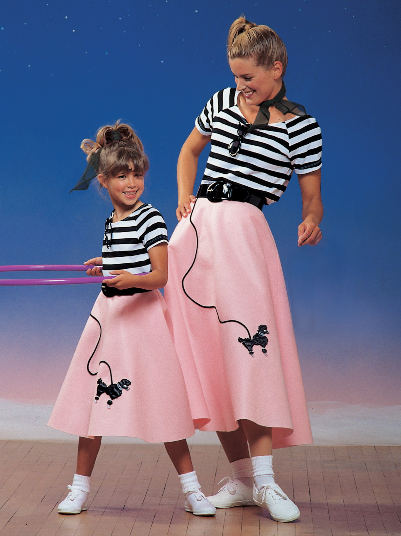 Image of 1950s Poodle Skirt Child Costume