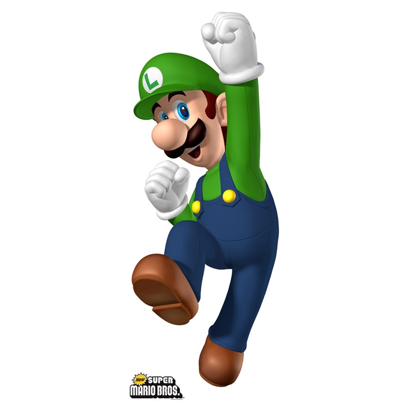 Super Mario Bros. Luigi Standup for the 2015 Costume season.