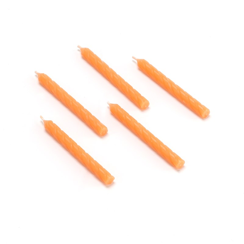 Candles   Orange (16 count) for the 2015 Costume season.