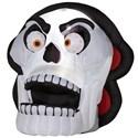 Halloween Decoration Animated Skull