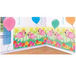 Flamingo Beach Add-On Wall Decoration