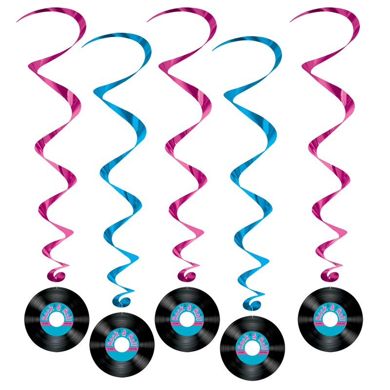 Rock N Roll Record Swirls (5 count) for the 2015 Costume season.