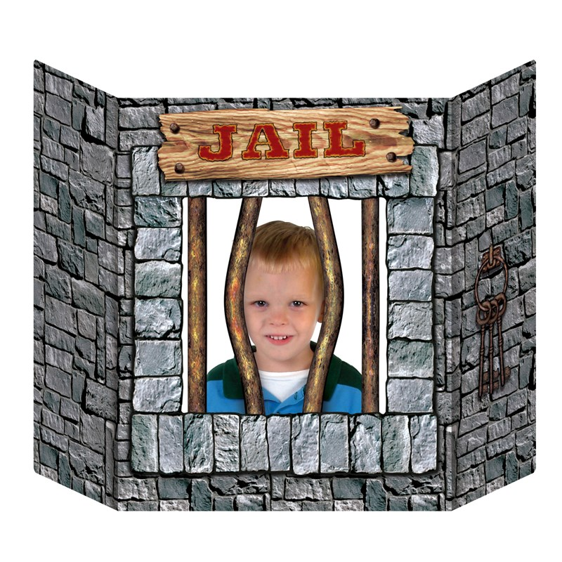 Jail Photo Prop for the 2015 Costume season.