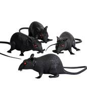 """6"""" Plastic Rat (1 count)"""