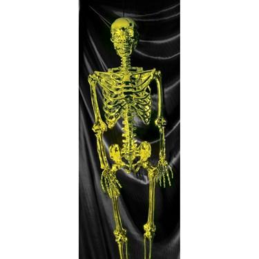 "60"" Posable Gold Skeleton"